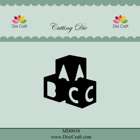 Dixi Craft Dies – ABC Bricks - MD0038