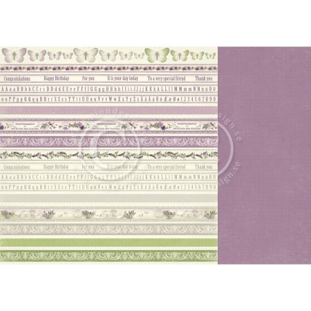 Pion Design - Borders - Scent of Lavender