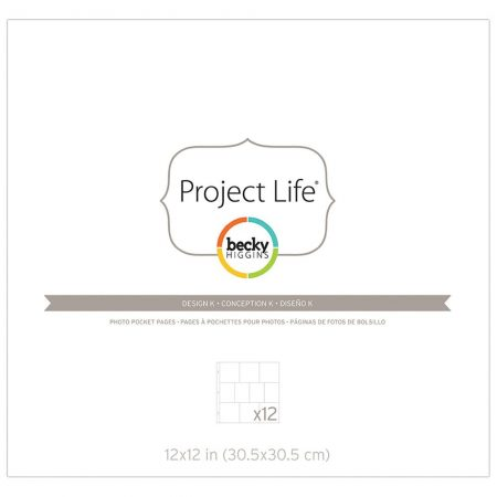 Project Life - Photo Pocket Pages - Design K
