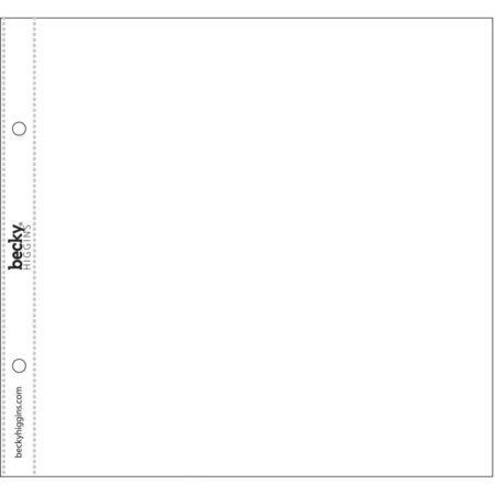 """Project Life - Photo Pocket Pages - 8""""X8"""" - 380499"""