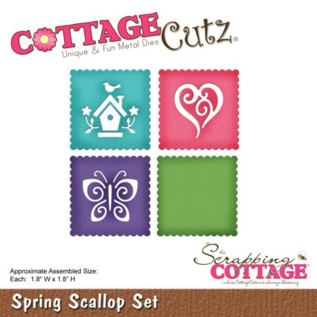 Cottage Cutz – Dies – Spring Scallop Set