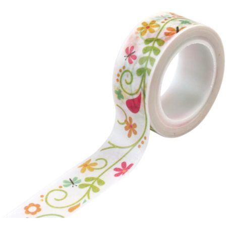Echo Park Paper - Happy Summer - Decorative Tape - Ivy Floral