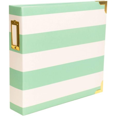 AMERICAN CRAFTS - Project Life - Teal Stripes Album