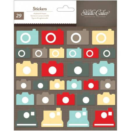 Studio Calico - Chipboard stickers - Kamara