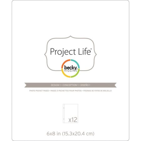 AMERICAN CRAFTS - Project Life - Photo Pocket Design 1