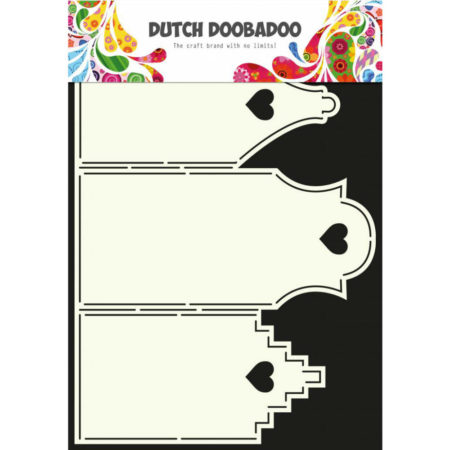 Dutch Doobadoo – Card Art – Houses