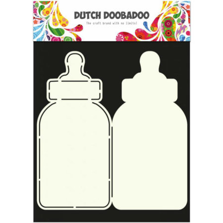 Dutch Doobadoo – Card Art – Baby Bottle
