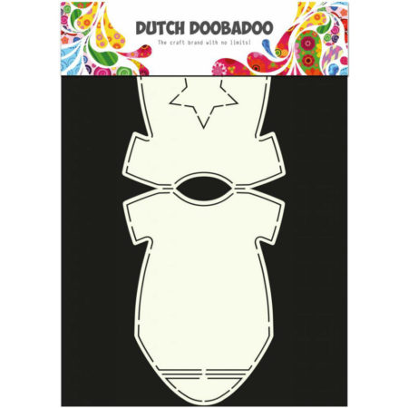 Dutch Doobadoo – Card Art – Baby Onesie