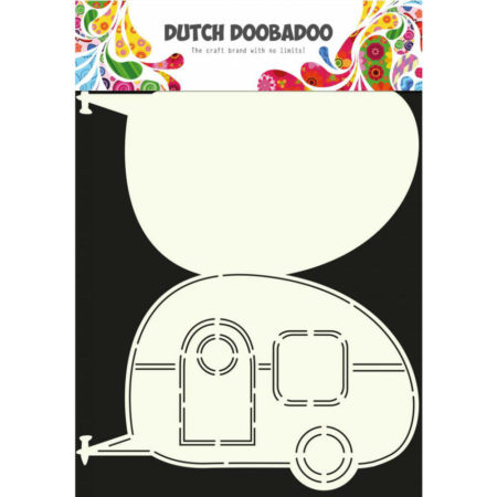 Dutch Doobadoo - Card Art - Campingvogn