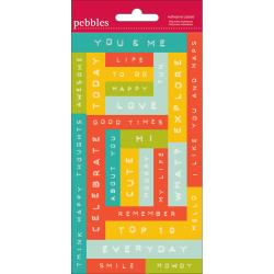 Pebbles - Adhesive Labels
