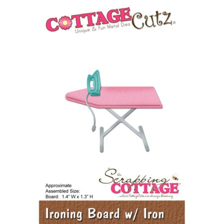 CottageCutz – Dies - Ironing Board W/Iron