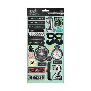 Chalk Studio 2 Cardstock Stickers - Icons