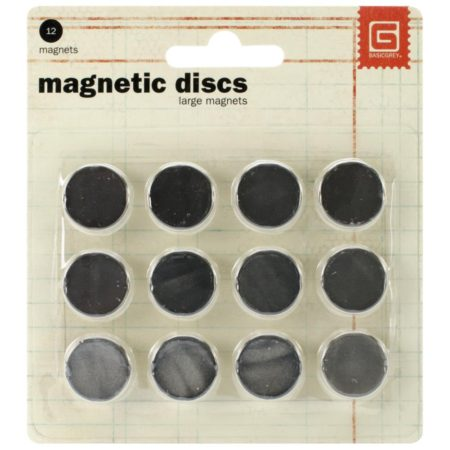 Basic Grey-Magnet Snaps Large