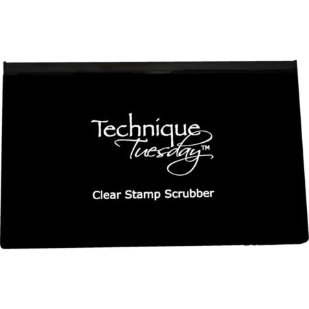 Technique Tuesday - clear stamp scrubber