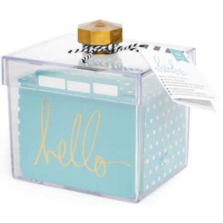 Project Life - Small Box Hello - Heidi Swapp