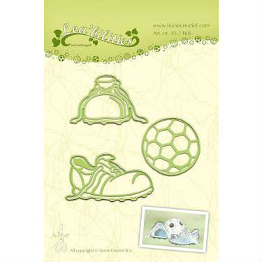 Leane - Die Cut & Embossing - Football
