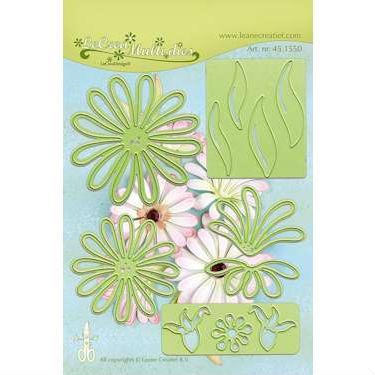 Leane - Die Cut & Embossing - Multi Flower 009