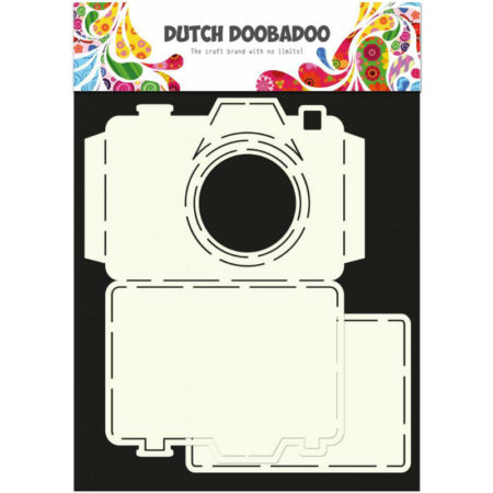 Dutch Doobadoo – Card Art – Camera