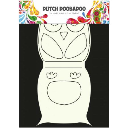 Dutch Doobadoo – Card Art – Owl