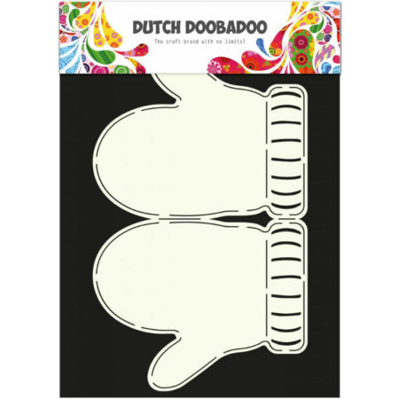 Dutch Doobadoo – Card Art – Mittens