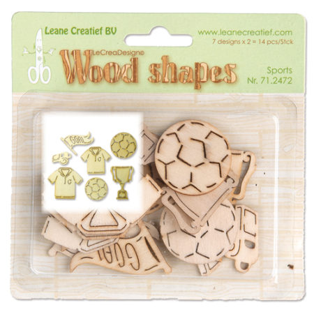 LEANE - Wood Shapes - Sports