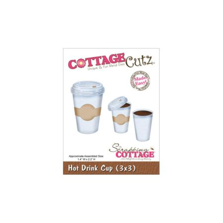 CottageCutz – Dies - Hot Drink Cup