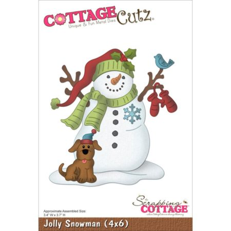 CottageCutz – Dies – Jolly Snowman