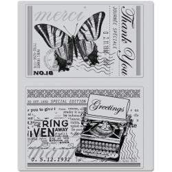 Hero Arts - Cling Stamps - Greetings