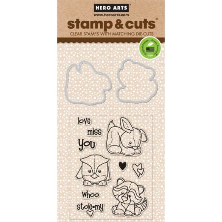Hero Arts – Stamp & Cuts – Baby Animals