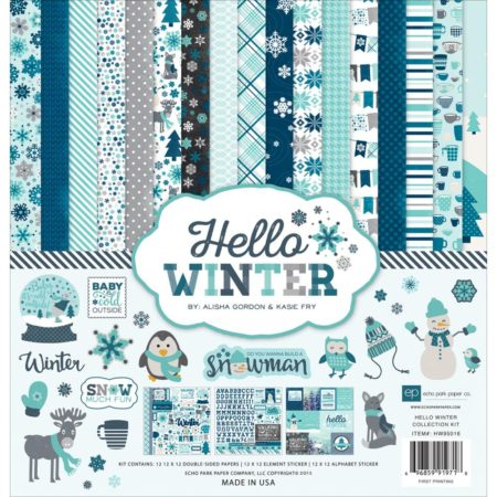 Echo Park Paper – Collection Kit – Hello Winter