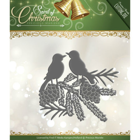 Precious Marieke - Spirit of Christmas - Spirited Birds