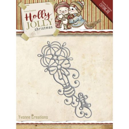 Yvonne Design – Holly Jolly Ornament