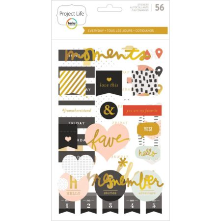 Projekt Life - Everyday Edition W/Gold Foil - 380589