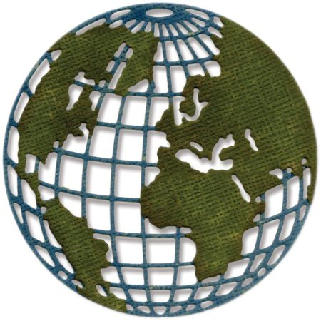 Sizzix - Thinlits - Mini Globe