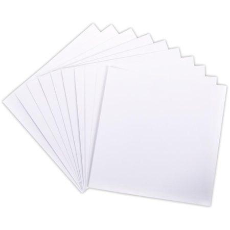Darice - Core'dinations - Smooth Cardstock - White