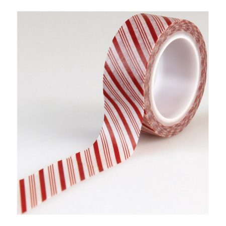 Echo Park Paper - I Love Christmas - Candy Cane Stripe