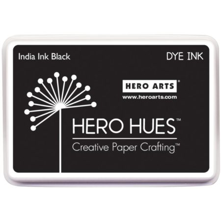 Hero Arts - Hero Hues Inkpads - India Ink Black
