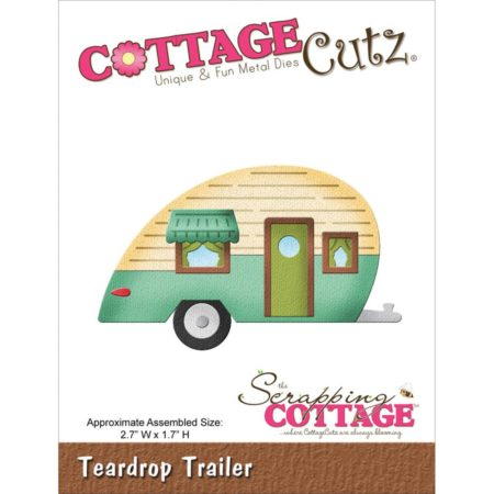 Cottage Cutz – Dies – Teardrop Trailer