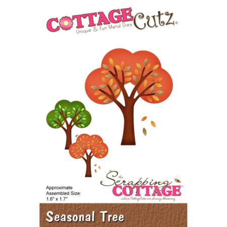 Cottage Cutz – Dies – Seasonal Tree