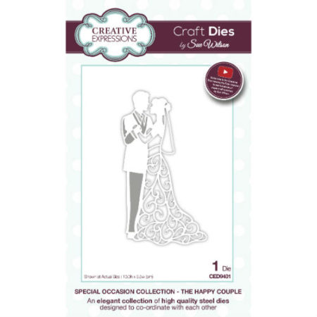 Creative Expressions - Special Occasion Collection - The Happy Couple