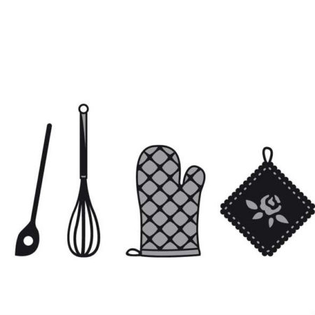 Mariann Design – Cut & Emboss - Kitchen set
