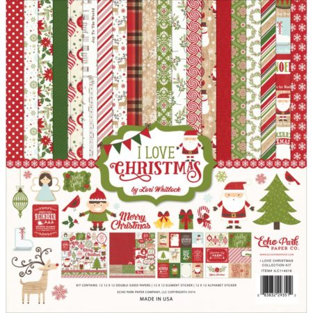 Echo Park Paper – Collection Kit – I Love Christmas
