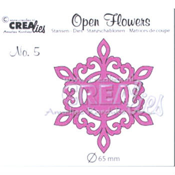 CREAlise – Text Dies – Open Flower 5