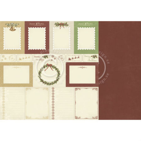 Pion Design - The Night before Christmas - Memory notes