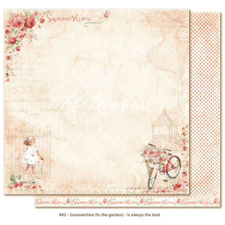 Maja Design - Summertime - In the garden - Wind in my hair