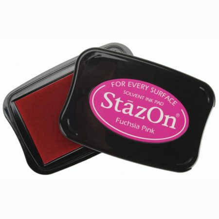 StazOn Solvent Ink Pad - Fuchsia Pink