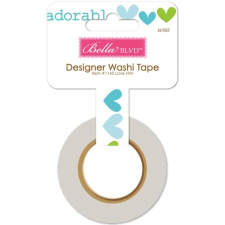 Bella BlvdCute Baby Boy Washi Tape - Love Him