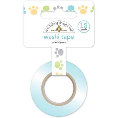 Doodlebug Washi Tape - Playful Paws