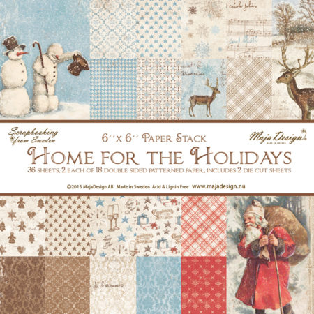 Maja Design – Home for the Holidays - Paper stack