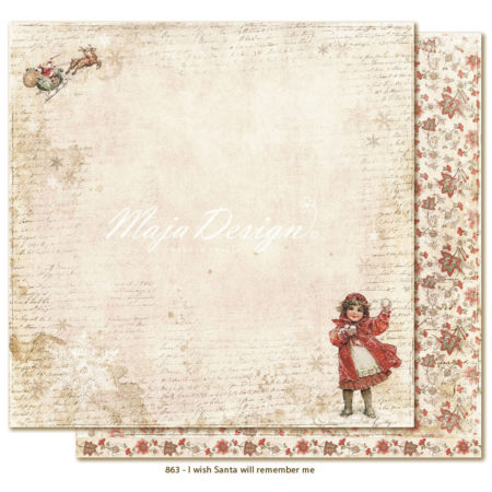 Maja Design - I wish - Santa will remember me